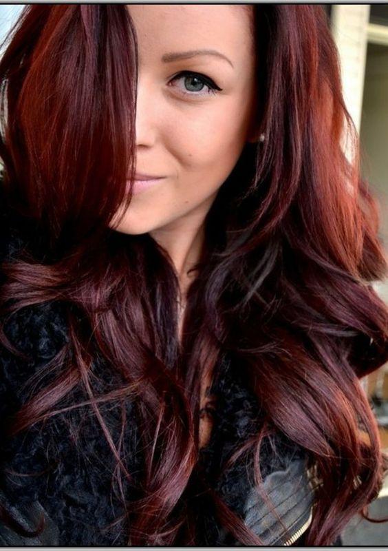 Nuance couleur des cheveux roux tendance été 2017