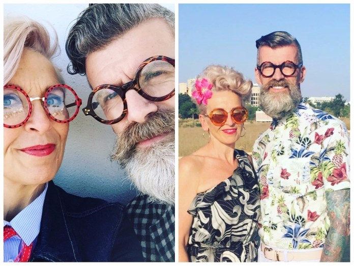 Le couple so British Karen and Greg