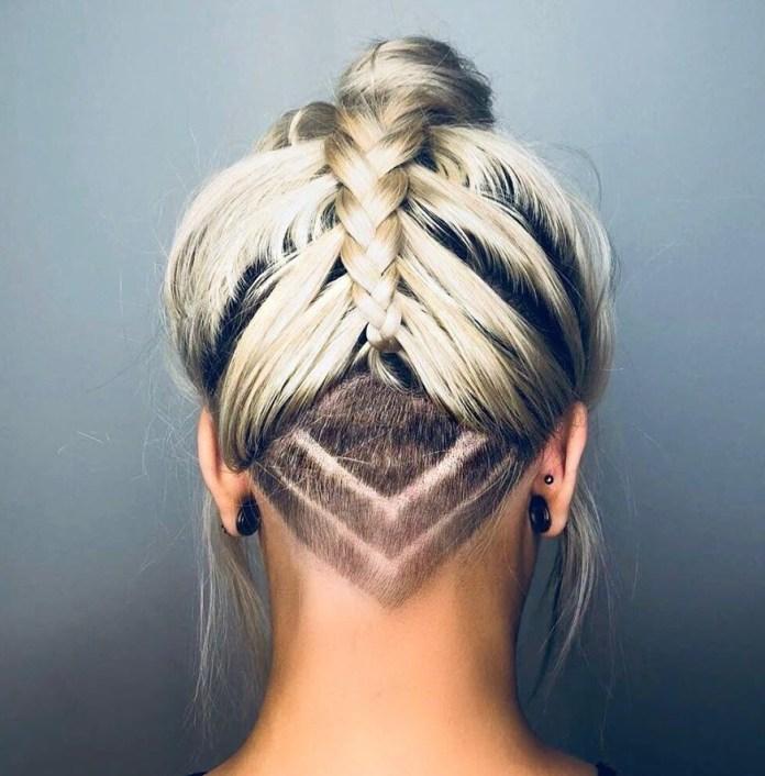Nape Undercut Haircut pour les femmes