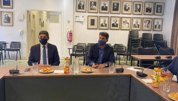 Διάθεση Αυγενάκη να συνδράμει στο ποδηλατοδρόμιο Ακρωτηρίου
