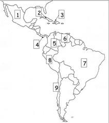 CA Study Guide, 6th grade Latin America, Unit 6, Flashcard