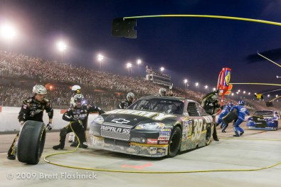 The 60th running of the Southern 500, for NASCAR Sprint Cup Series auto racing at Darlington Raceway on, Saturday, May 9, 2009, in Darlington, S.C. (AP Photo/Brett Flashnick)