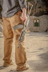 A custom SBR AK-47 by Innovative Arms in Elgin, SC (Photo © 2013 Brett Flashnick / flashnick visuals, llc - All Rights Reserved)