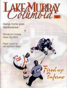 Magazine Cover Story on Columbia Inferno Hockey Franchise.
