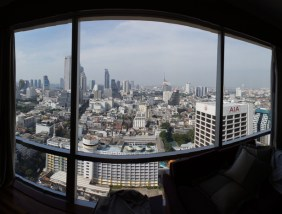View from the room in Bangkok