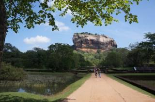 Rock citadel, Sigiriya!