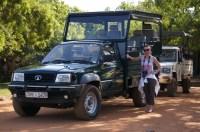 Super comfy safari vehicle