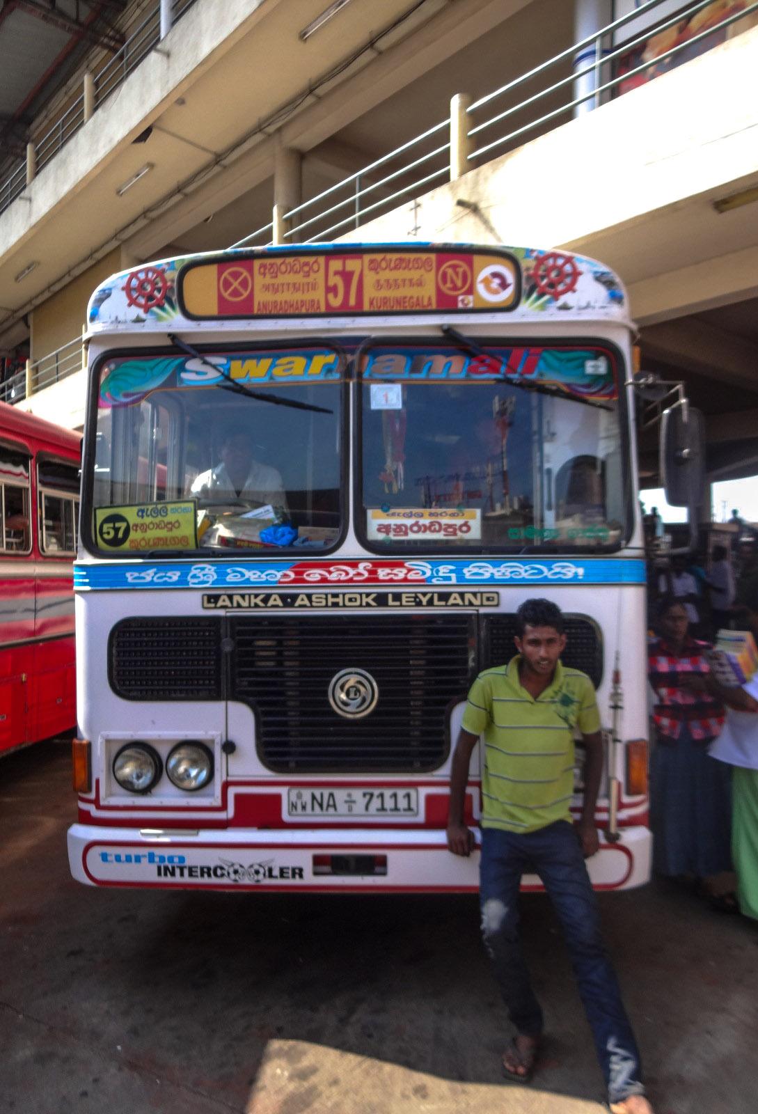 Sri Lanka Bus from Negombo to Anuradhapura  Flashpacking Travel Blog