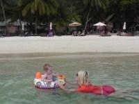 Beach on Perhentian Islands Malaysia courtesy of Flashpacker Family