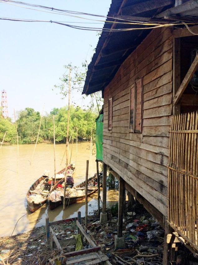 Fisherman's Village - Dala, Burma
