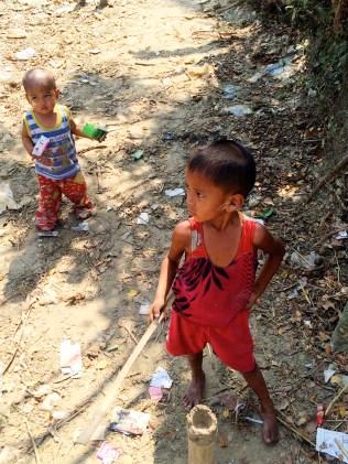 Children - Bamboo Village - Dala, Burma