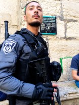 Police present in the Old City