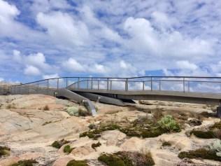 Natural Gap Bridge pathway