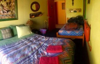 Hostel room at Global Village