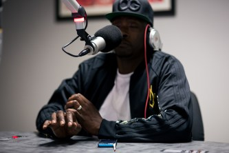 Pete Rock was listening to some of his old stuff and started tapping out his production. It's like he let you be in the studio when he did the beat.