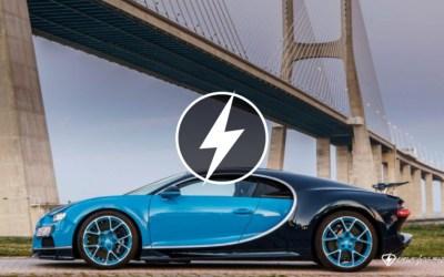 O primeiro review do mundo do Bugatti Chiron! Sabe onde foi feito? Adivinhe.