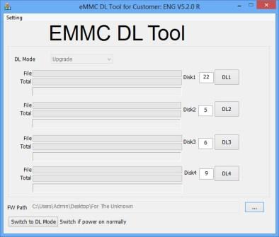 Download-EMMC-DL-Tool