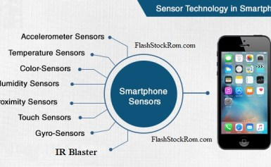 Different sensors of Android Devices