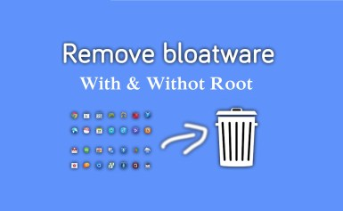 Deleting System Applications from your Android phones