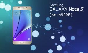 [Clone] Flash Stock Rom onSamsung Galaxy note 5 SM-n9208