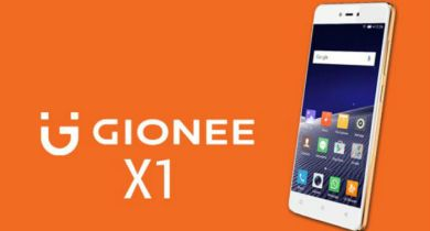 Flash Stock Rom on Gionee X1