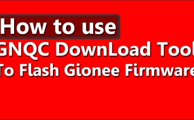 How to flash Qualcomm Smart device using GNQC download tool