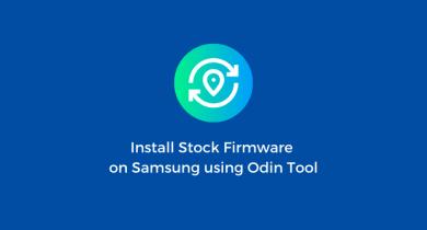 Flash Stock Firmware onSamsung Galaxy A10e SM-A102U