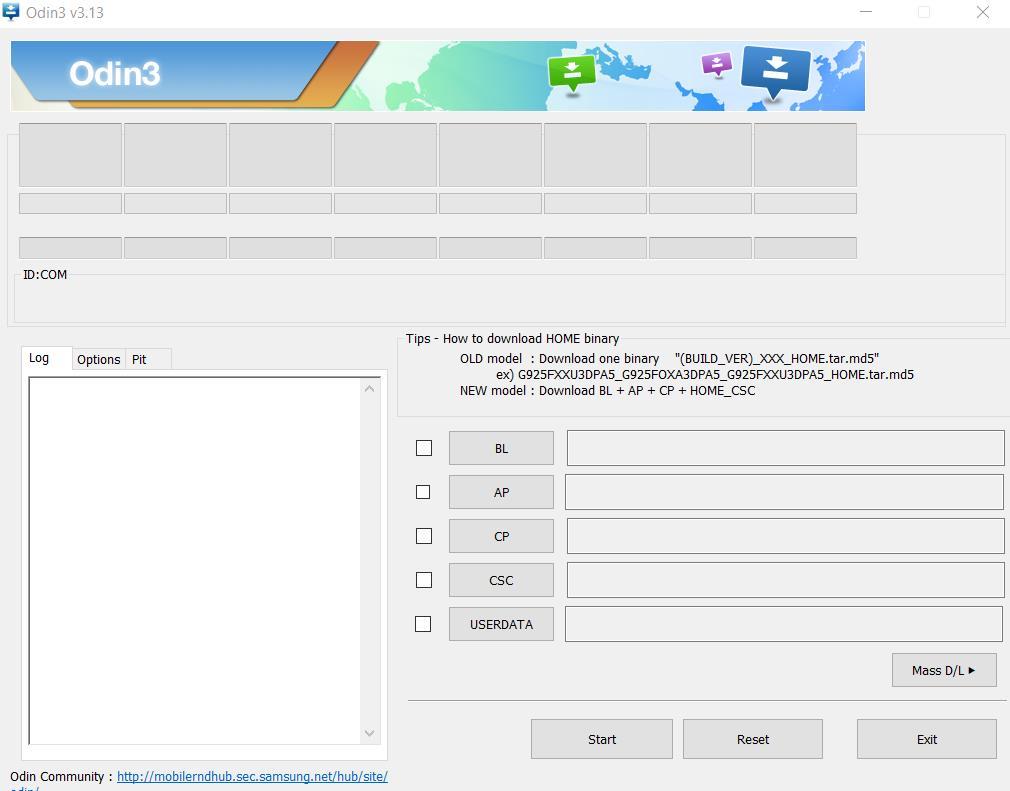 Flash Stock Firmware onSamsung Galaxy S8 Active SM-G892U
