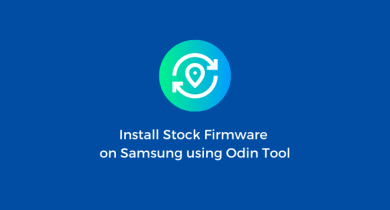 Flash Stock Firmware onSamsung Galaxy A10 SM-A105G