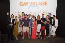Gay Village RID - Foto con giurati per la vincitrice