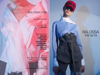 Milano White la collezione F/W 2018 di Balossa