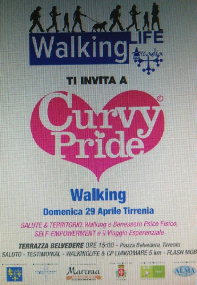 La 2a edizione della curvy pride walking