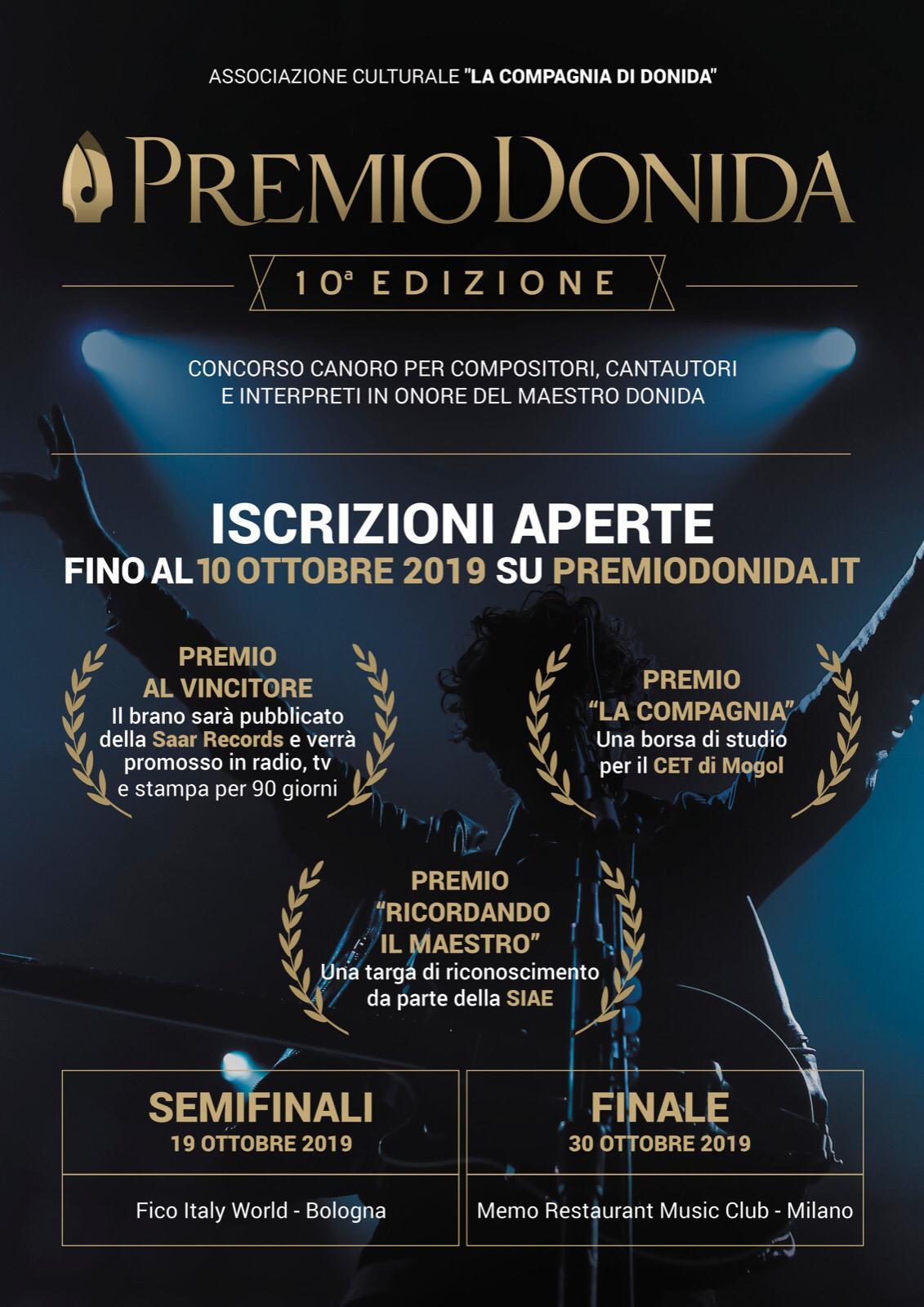 10a Edizione Premio Donida