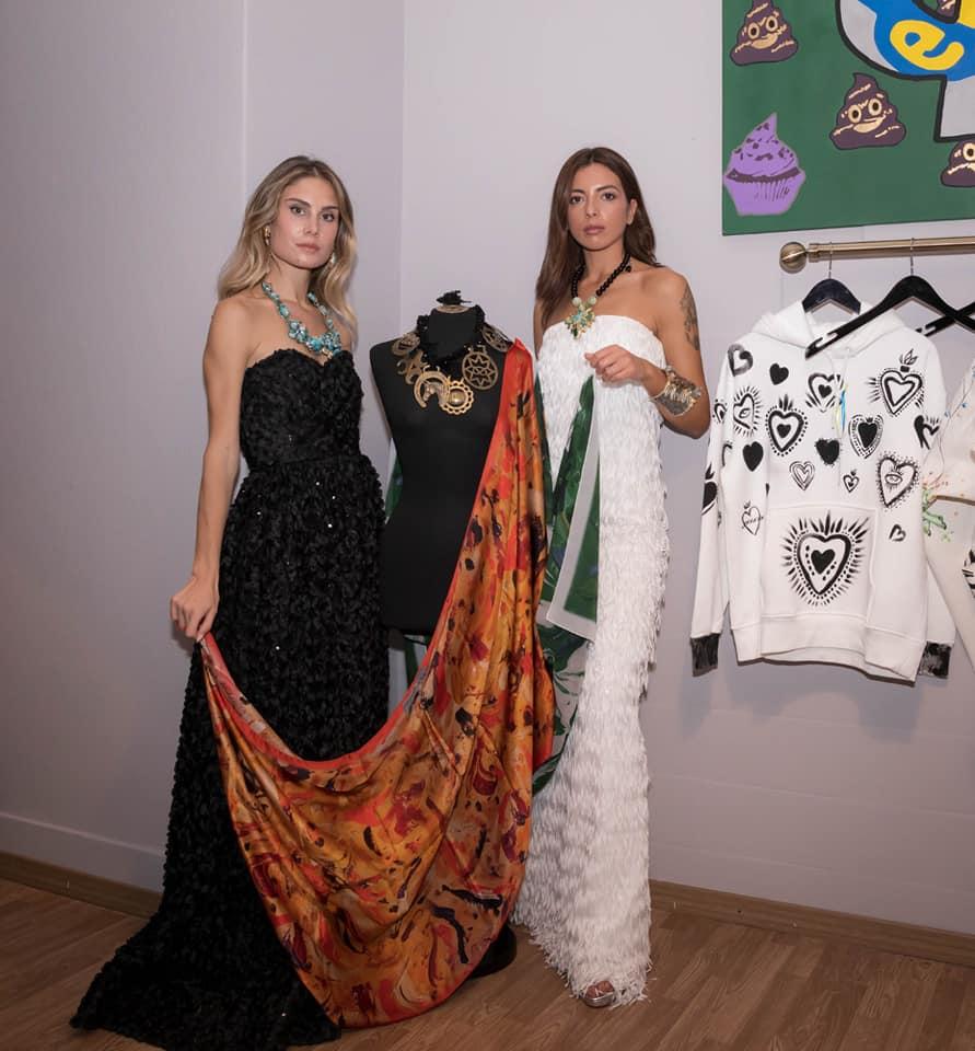 Contaminazioni d'arte sulla moda di Mariella Tissone allo Spazio Art d'Or