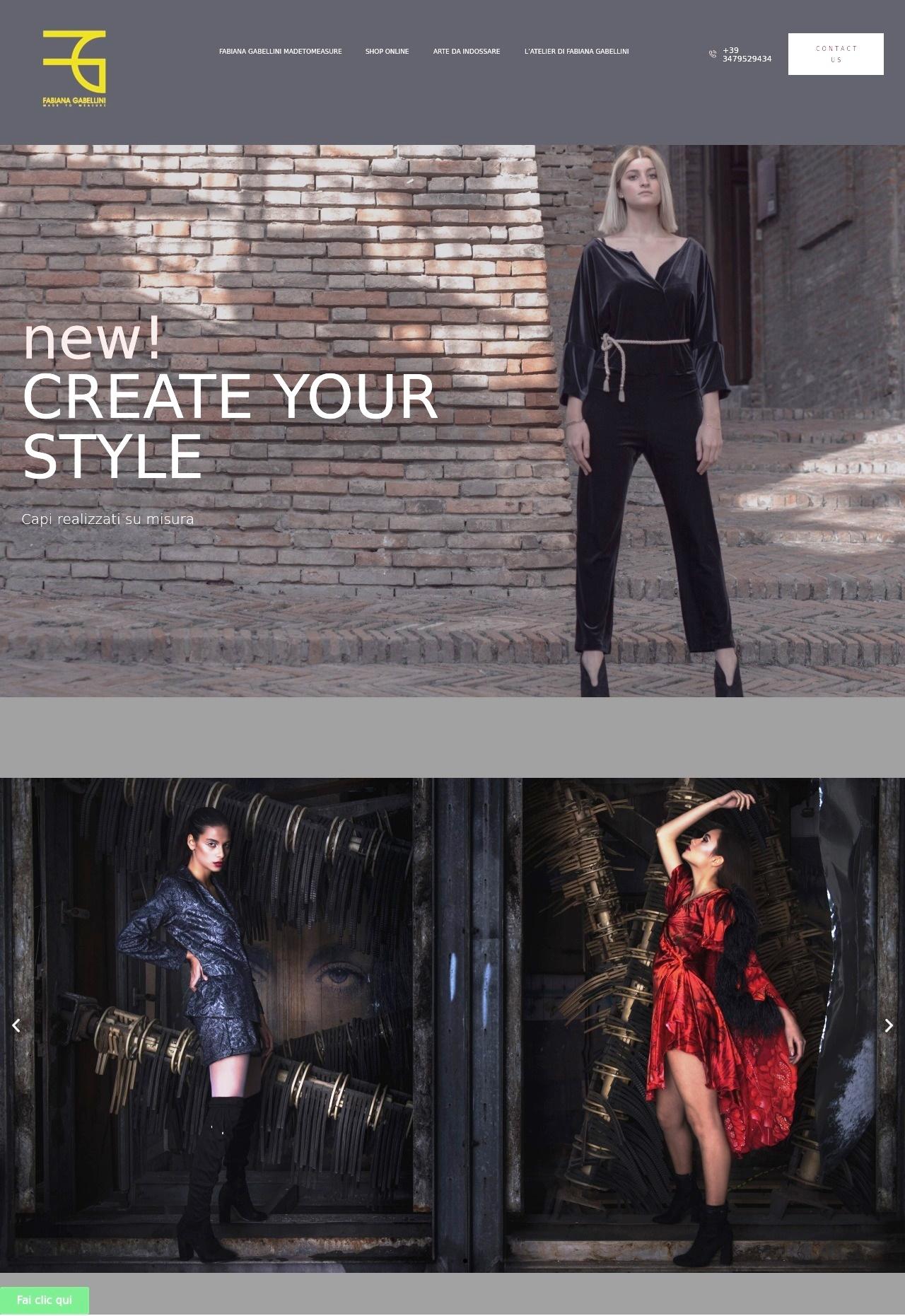 quando l'arte e il fashion non si fermano a Cattolica Fabiana Gabellini