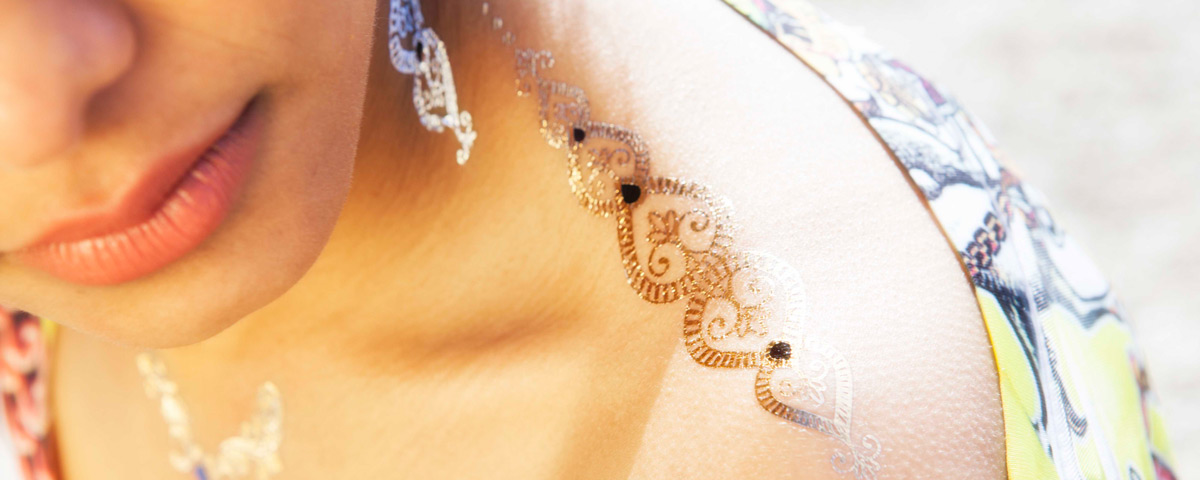 Hindy Beauty Flash Tattoo
