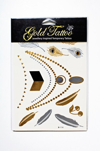 Flash Tattoos - Fantastische Federn