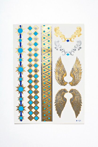 Flash Tattoos - Metallic Angel
