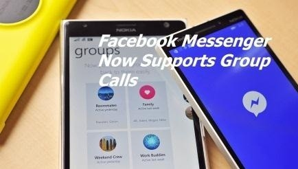 Facebook Messenger now supports group calls