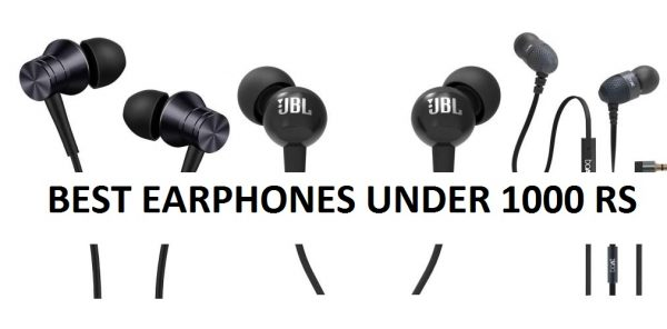 Best In Ear Headphones Under Rs 1000