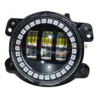 Jeep 4 Inch Round LED Fog Lights - 4 Inch Round Foglights ...