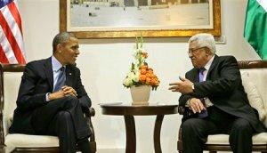 President Obama meets with Palestinian Authority Chairman Mahmoud Abbas (Abu Mazen) in Ramallah on Thursday.