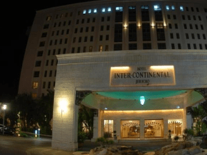 The Intercontinental is a luxury hotel in Jericho, a city Palestinian officials would like to see draw more tourists.