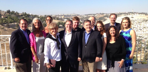 I joined the NRB delegation in Jerusalem today as part of their solidarity visit to Israel.