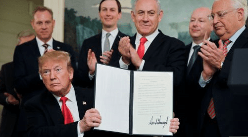 GolanHeights-Trump