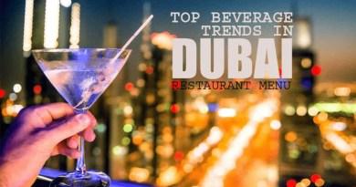 Beverage Trends in Dubai