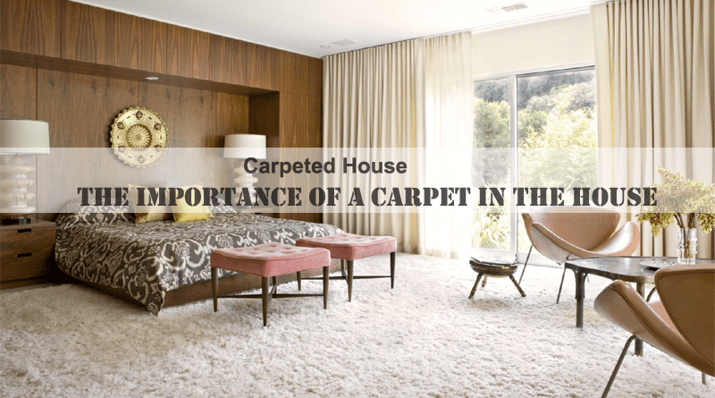 Importance of a Carpet in the House