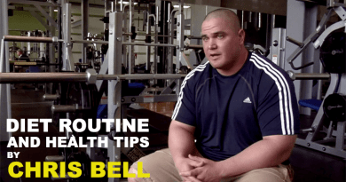 Chris Bell Health Routine