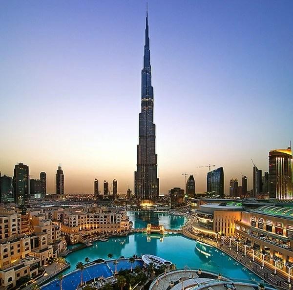 Burj Khalifa Worlds Tallest Skyscraper