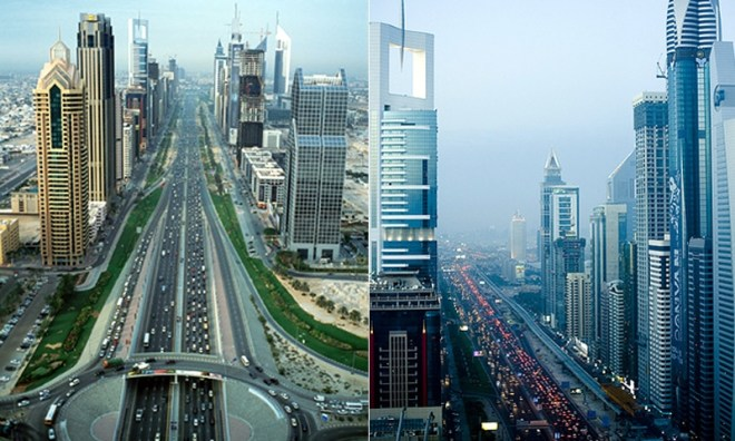 Sheikh Zayed Road Dubai